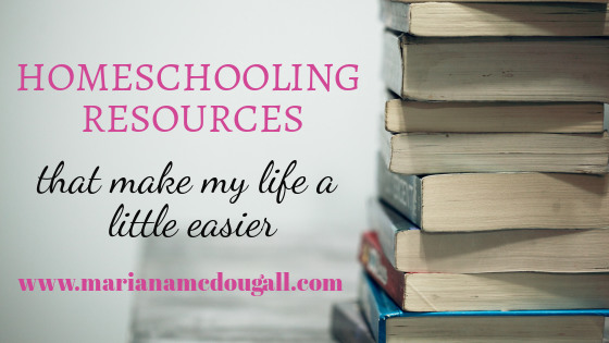 Homeschooling Items that Make My Life a Little Easier