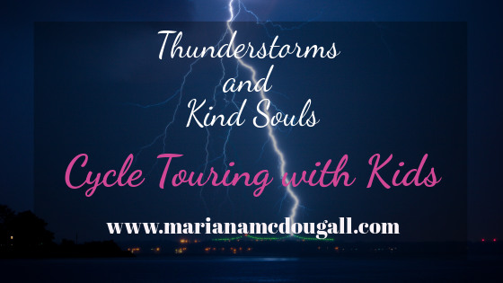Thunderstorms and kind souls, cycle touring with kids in Toronto, Photo by Sean McAuliffe on Unsplash