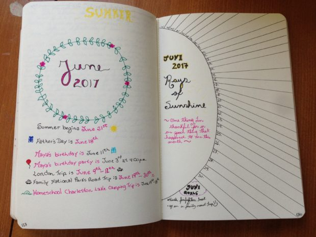 My Bullet Journal Experience
