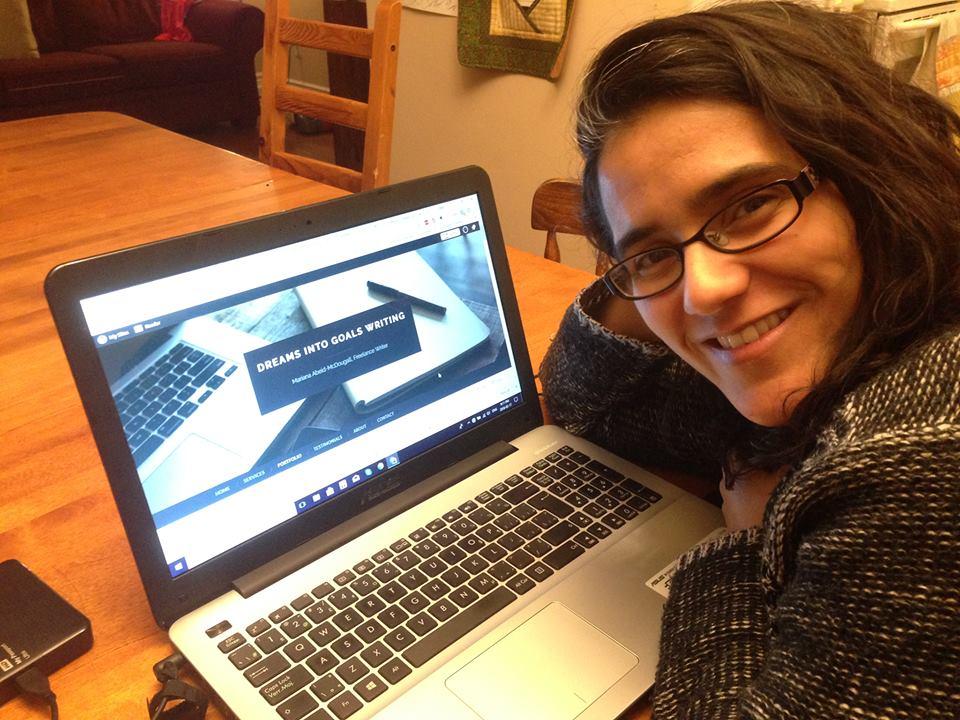 Dreams into Goals Writing, Mariana Abeid-McDougall