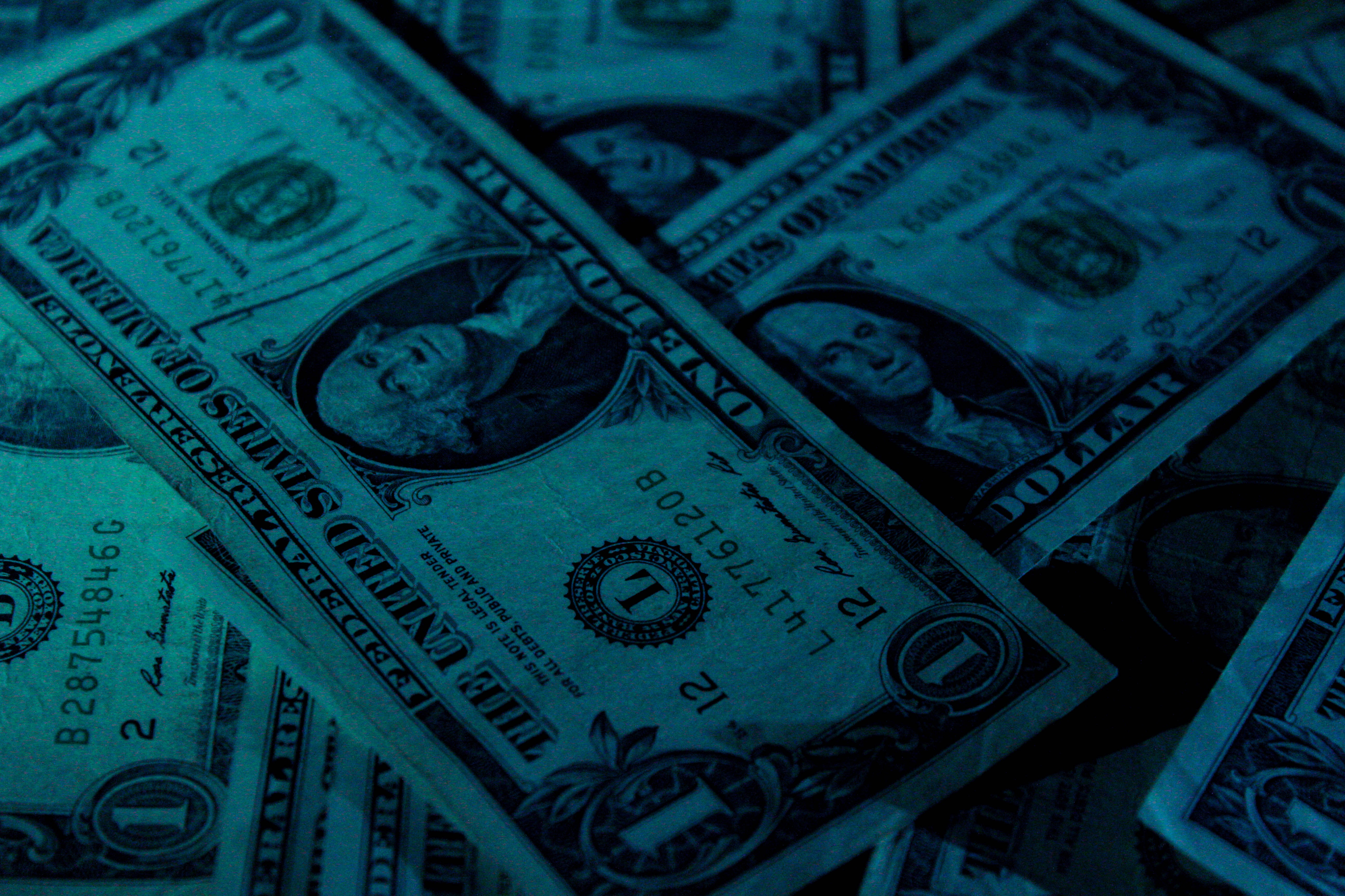 money; Photo by Aidan Bartos on Unsplash