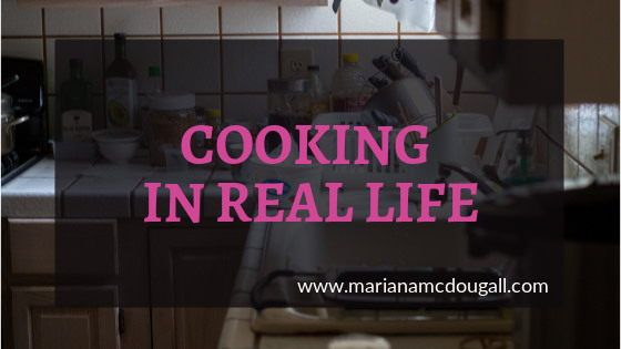 Cooking in real life on www.marianamcdougall.com; Photo by Jason Leung on Unsplash