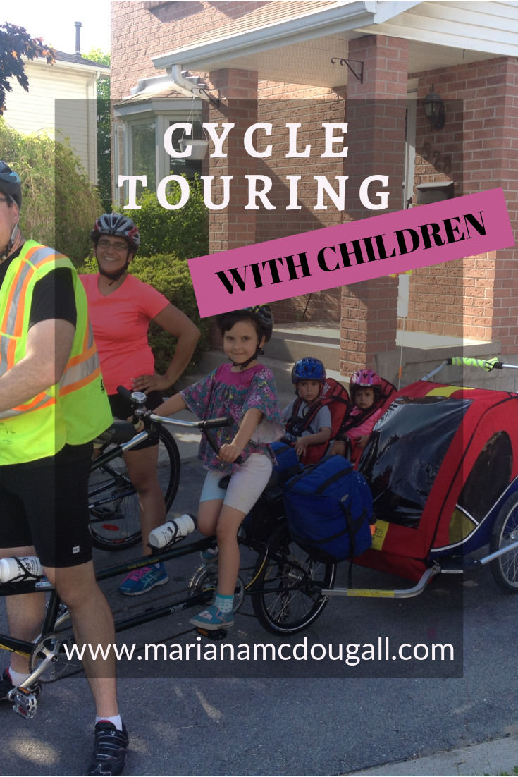 Cycle Touring with Children on www.marianamcdougall.com