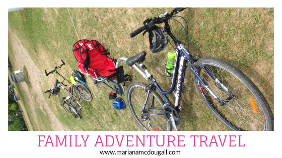 Family Adventure Travel; family cycle touring