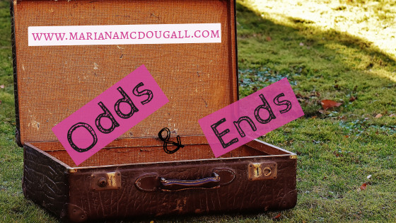 Odds & Ends on www.marianamcdougall.com