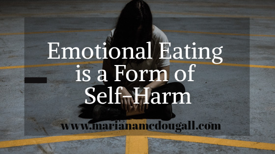Emotional eating is a form of self-harm, Photo by Alex Iby on Unsplash