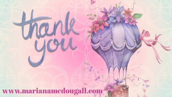 thank you! hot air baloon thank you note, www.marianamcdougall.com