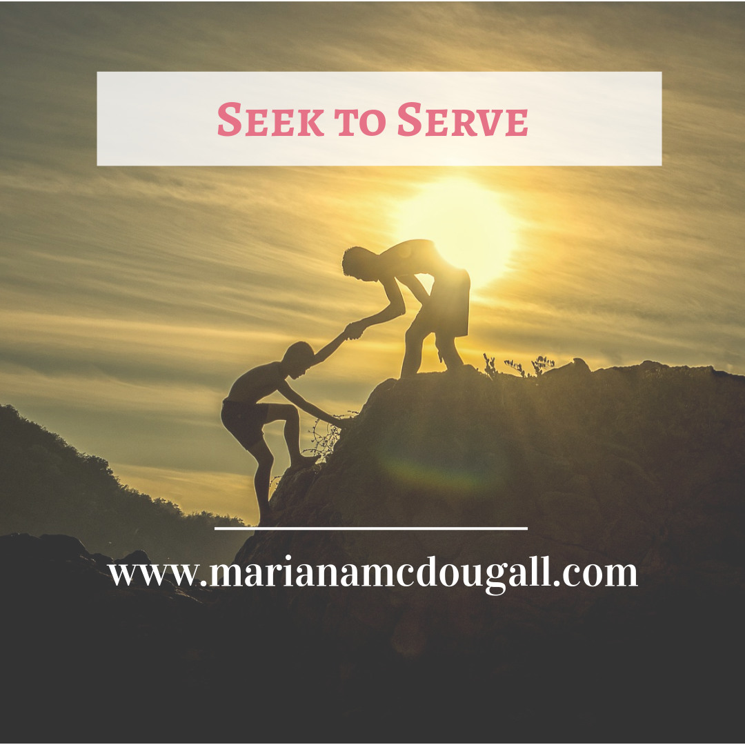 Seek to Serve: Improving Yourself by Helping Others