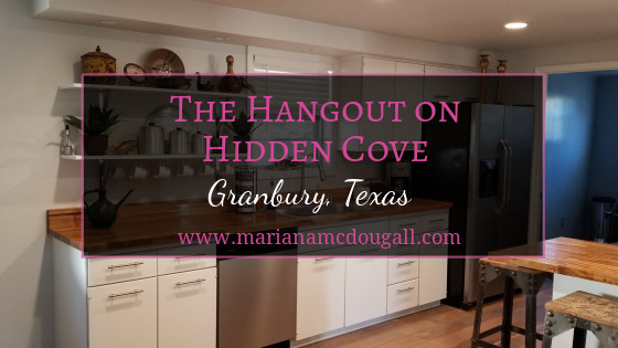 The Hangout on Hidden Cove, Granbury, Texas, www.marianamcdougall.com
