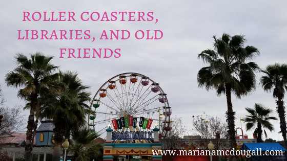 Roller Coasters, Libraries, & Old Friends, www.marianamcdougall.com, picture of Six Flags Fiesta Texas Fiesta Bay Boardwalk