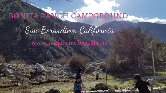Camping in the Mountains in San Berardino, California