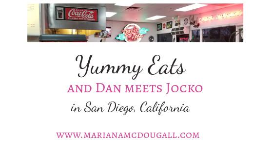 San Diego Eats & Dan meets his idol