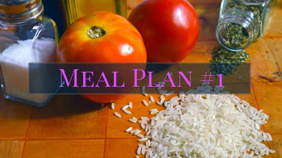 Meal Plan #1