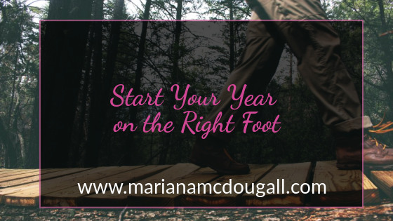 start the year on the right foot on www.marianamcdougall.com