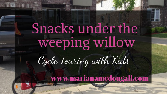 Snacks under the Weeping Willow