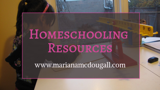 Homeschooling Resources – What We've Used This Year