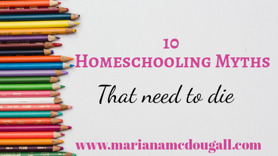 Homeschooling Myths that Need to Die