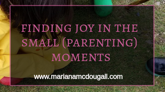 Joy in the small moments: a parenting journey