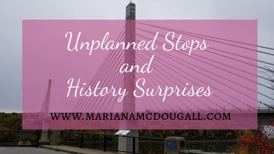 History, Bridges & Dead Animals on Our Drive to Boston