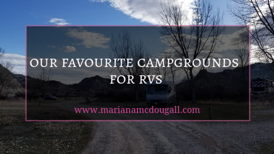 Our favourite campgrounds